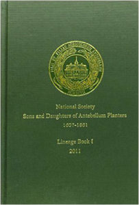 NSSDAP Lineage Book 1